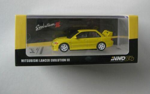 Mitsubishi lancer evolution iii *** inno 64 high-end 1:64 nuevo