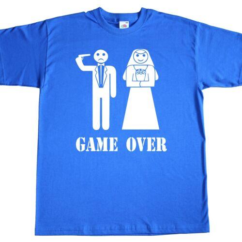 Basic T-Shirt TShirt Junggesellenabschied Polterabend Hochzeit Verlobung Antrag