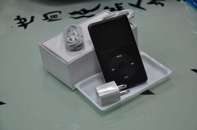 Black Apple iPod classic 6ème génération MP3 lecteur (80GB) (dernier modèle)
