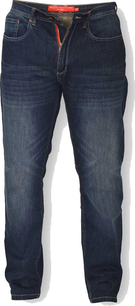 D555 Bourne Affusolato Scuro Vintage Stretch Jeans per uomini alti a 38  Gamba
