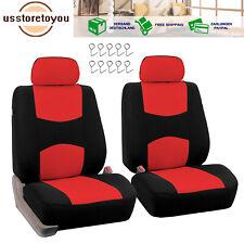 Sitzbezüge Sitzbezug Schonbezüge für Renault Clio Rot Sportline Komplettset