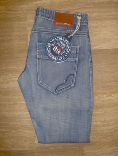 BA302 modello Bootcut  Diritto BACI /& ABBRACCI art Jeans Uomo marca B/&A