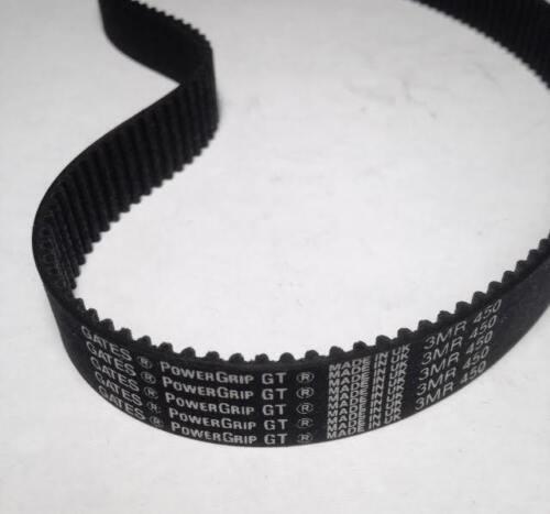Gates PowerGrip GT 3MR450-15 Timing Belt 15mm Wide 3B8 NEW