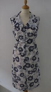 Vintage-60s-Shift-Dress-12-14-White-Navy-Floral-Goodwood-Summer-Mad-Men-Mod