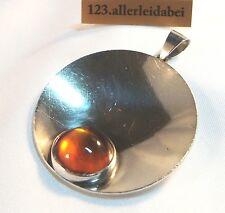N.E.From Bernstein Anhänger Silber Erik Nils old amber pendant / AL 553