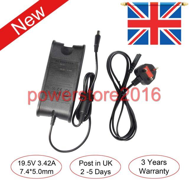 65W 19V For DELL LATITUDE E6320 E6330 E6400 E6410 E6420 E6430 Charger Adapter UK