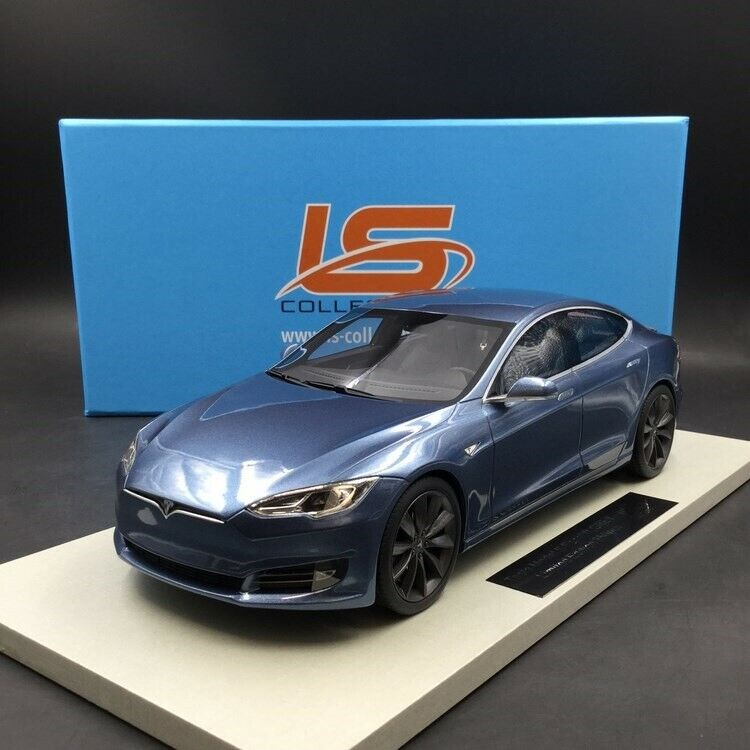 LS COLLECTIBLES 1 18 Tesla model S 2012 LS028F