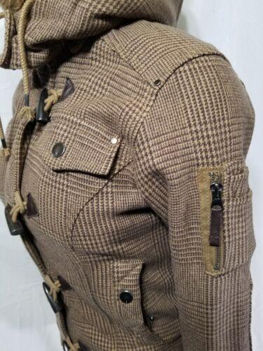 Sabertooth bottoni Cappuccio in eco con pelliccia Soul Triple Giacca Five rimovibile qAtwvZqz1