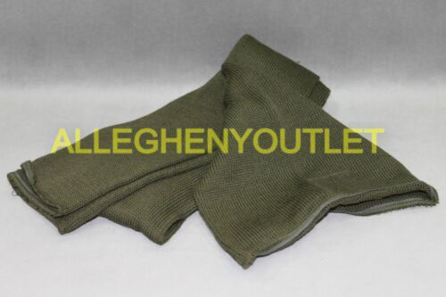 "US Military Army USGI 100/% WOOL SCARF OD Green 48/"" Tube Double Knit NEW"
