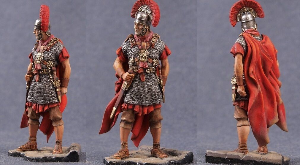 Tin toy soldiers ELITE ELITE painted 54 mm   Roman.