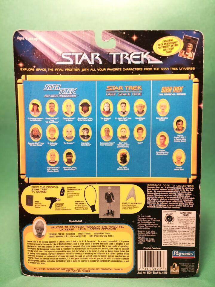 Star Trek - Janice Rand, Playmates