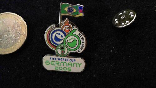 DFB Pin Badge Nationalmannschaft WM World Cup 2006 Deutschland Brasilien FIFA