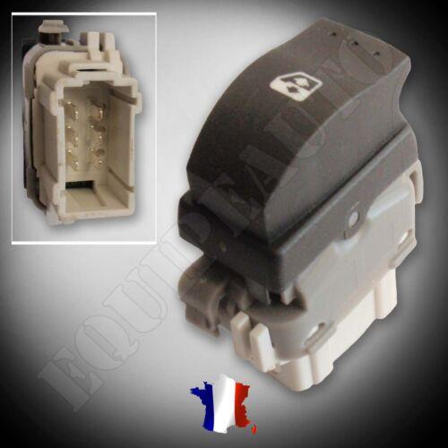BOUTON DE LEVE VITRE ELECTRIQUE ARRIERE RENAULT MEGANE 2 SCENIC 2 =8200315024