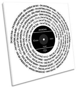 Ian-Brown-Fear-Song-Lyrics-CANVAS-WALL-ART-SQUARE-Picture-Print