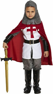 BOYS-KNIGHT-DELUXE-LANCELOT-OUTFIT-FANCY-DRESS-BOOK-DAY-COSTUME-4-12-YEARS