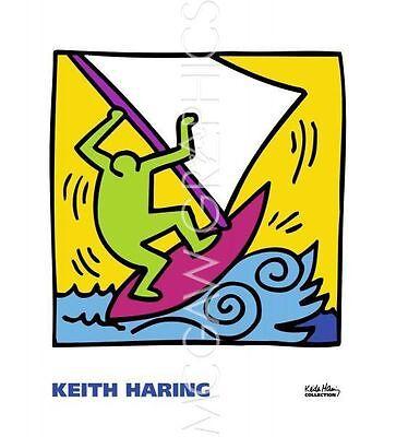 POP ART PRINT KH12 Keith Haring 16x16