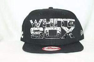 c7b11c0a0dc5d8 New Era MLB 9Fifty CHICAGO WHITE SOX The Filler 950 Snapback Cap Hat ...