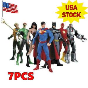 7-Pcs-DC-Justice-League-7-034-Action-Figure-Toy-Superman-Batman-Flash-Wonder-woman
