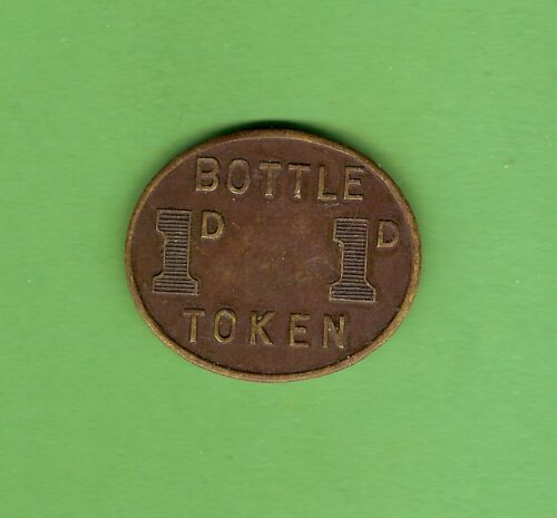 #D309. MILITARY TOKEN ADFC NSW PENNY BOTTLE TOKEN