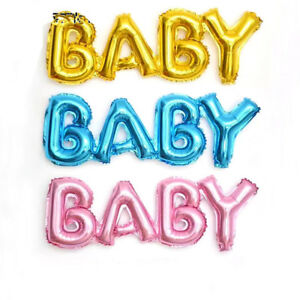 Baby Shower Letter Balloons.Details About Foil Letter Balloons Boy Girl Baby Party Supplies Birthday Baby Shower Decor