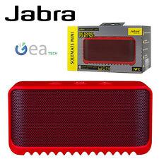 Jabra SOLEMATE MINI Speaker Bluetooth NFC Cassa Wireless Vivavoce Universale Red