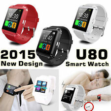 U80 Smart Watch Phone Mate Waterproof For Android IOS Sumsung Sony HTC US SELLER