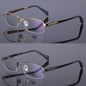 54023f30af NEW men Luxury Pure Titanium sport glasses optical frames Eyeglass ...