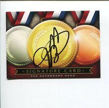 Jeff Branson 1998 Olympic Gold Baseball Cincinnati Red Signed The Autograph Card