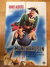 Münchhausen (Kinoplakat/Filmplakat '43) - Hans Albers / Brigitte Horney