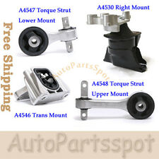 Transmission Engine Motor Mount Kit For 2006-2011 Honda Civic 1.8L MT Trans G035