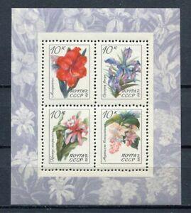 30696) Russia 1971 MNH Flowers S/S Scott #3929