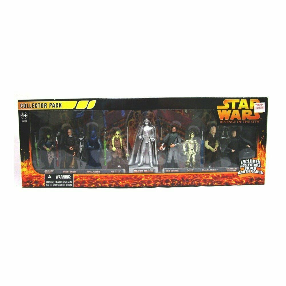 Hasbro Star Wars Episode III  Collector's 9-Pack of Poseable Figures