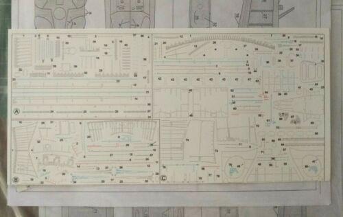 Decal Simulating Rivets for MI-24V//VP model kit 1//48 Zvezda 4823