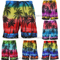 HAWAIIAN SHORTS FANCY DRESS S XL XXL BEACH STAG PARTY PALM TREE SHORTS COSTUME