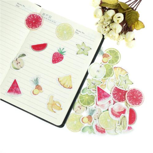45pcs fruits paper sticker diy diary decor for album scrapbooking stationery I2