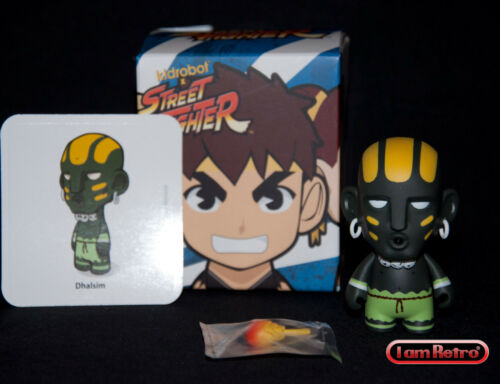 "Street Fighter Series 2 3/"" Figure Brand New in Box Mint Kidrobot Dhalsim"