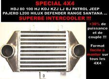 PROMO HDJ KDJ KZJ HILUX 4RUNNER PATROL JEEP LAND PAJERO INTERCOOLER +80CH +15MKG