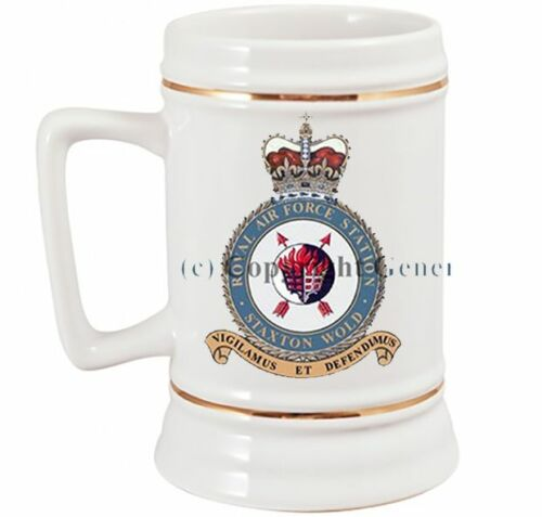 ROYAL AIR FORCE STAXTON WOLD  BEER STEIN