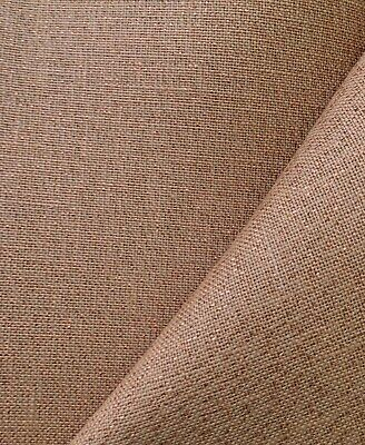 Vintage Mocha  32 Count Zweigart Belfast linen even weave fabric size options