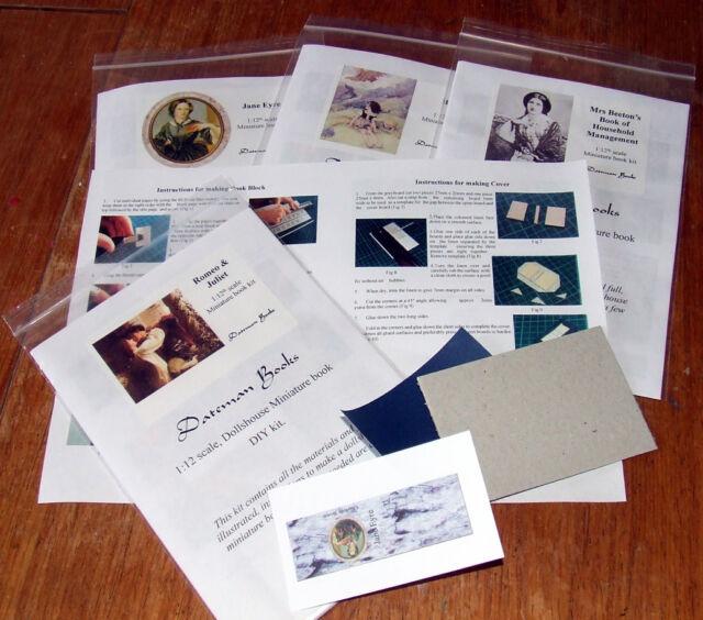 Dollshouse Miniature Book Kit - Oliver Twist