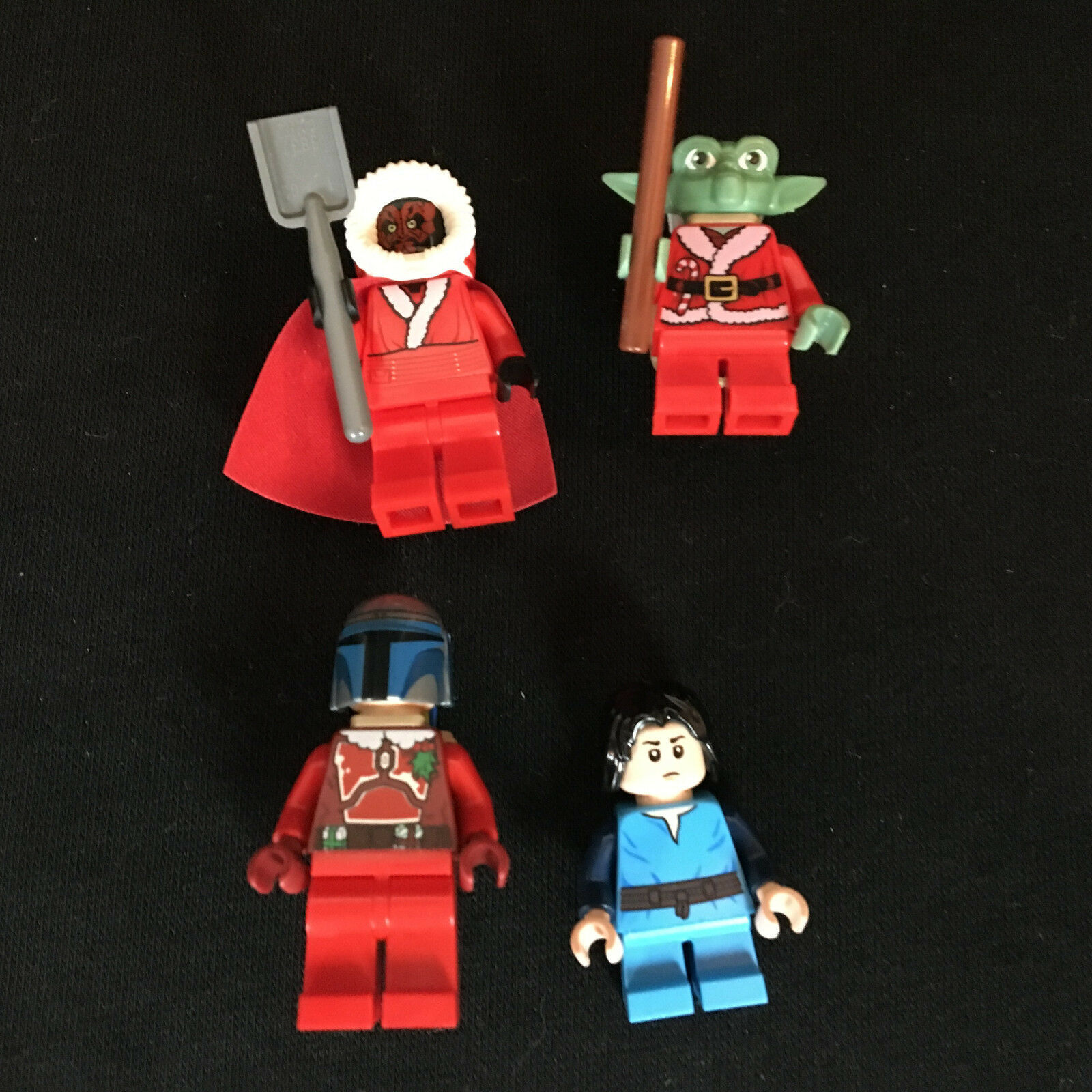LEGO STAR WARS YODA DARTH MAUL Jango Boba Fett wheinachtsmann 7958 9509 75023