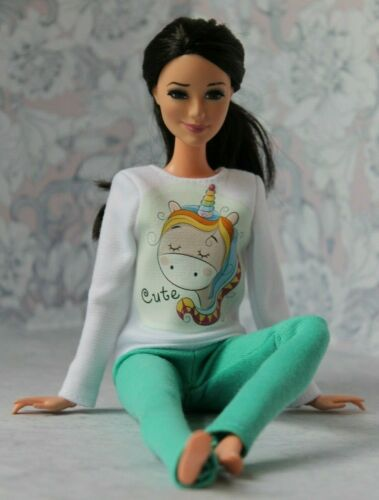 Blouse and Leggings for Dolls. №242 Clothes for Barbie Doll