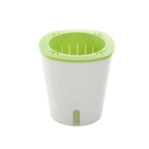 1x Flower Pot Garden Self-Watering Plant Hydroponic Potted Resin Planter Durable