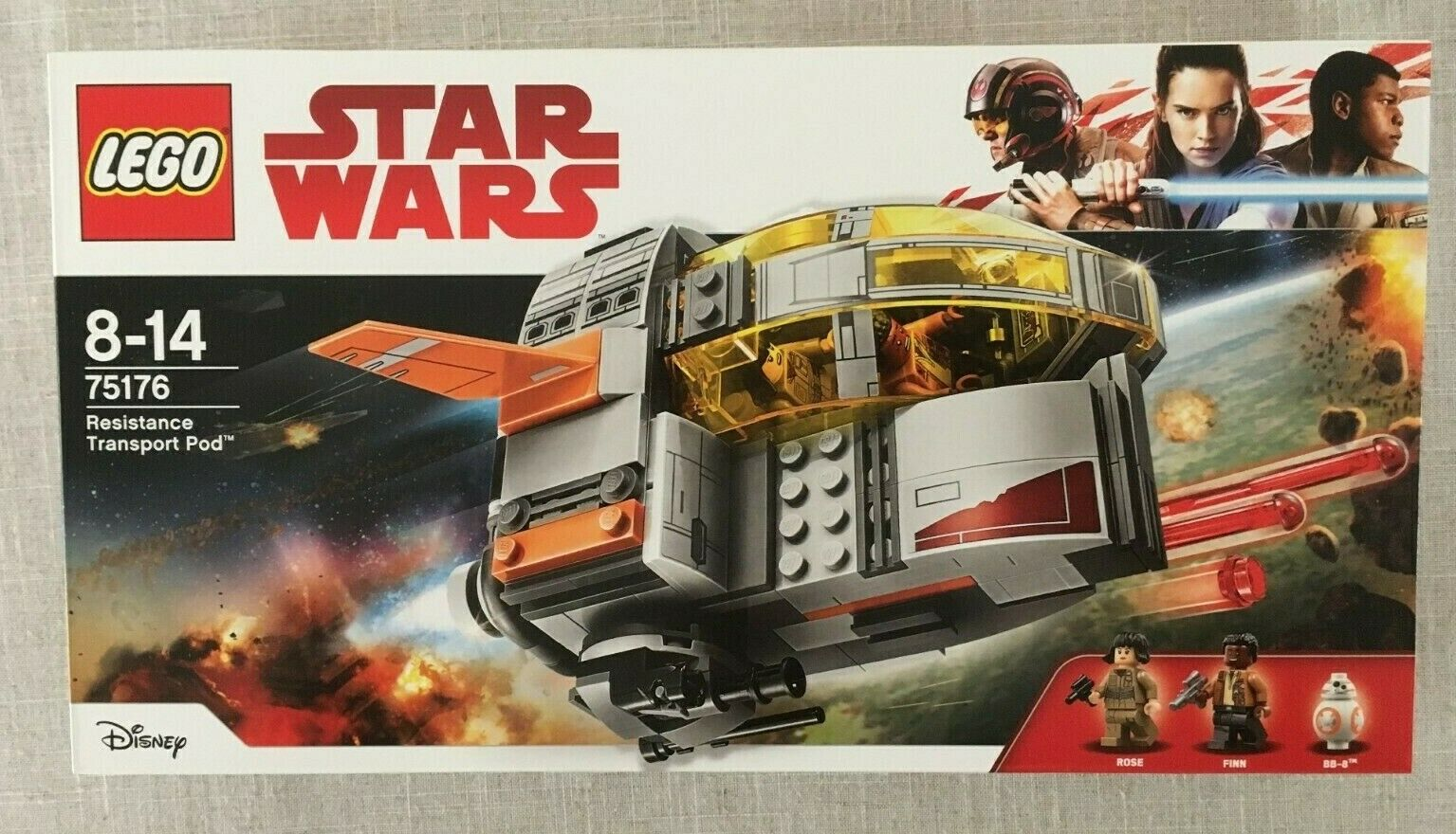 LEGO Star Wars Resistance Transport Pod (75176) New Sealed
