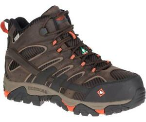 b6e36b60 Details about Merrell Newest Men's J15873 Moab 2 Composite Toe Waterproof  Safety Work Boots