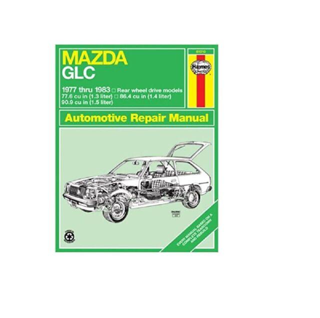 Repair Manual Haynes Mazda Glc Rwd 1977 To 1983 Owners