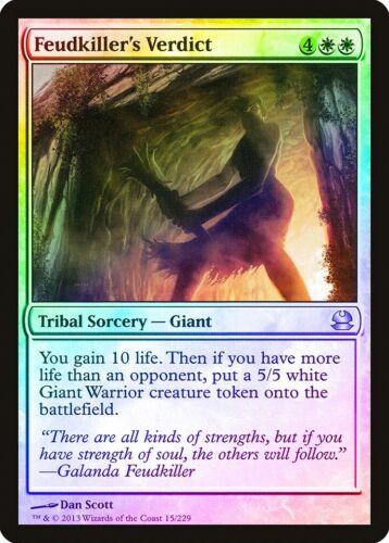 Feudkiller/'s Verdict FOIL Modern Masters NM-M White Uncommon MAGIC CARD ABUGames