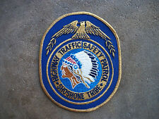 California Arizona Wyoming Highway Traffic Patrol Shoshone Tribe police patch 1