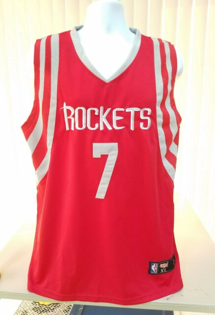 56c0d484c Jeremy Lin Houston Rockets Red Jersey Size MENS XL By Hoops Originals