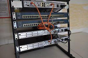 Details about CISCO CCENT CCNA CCNP R&S SECURITY LAB KIT 1x 1841 IOS 15 1  2x 2611XM CME 4 RACK